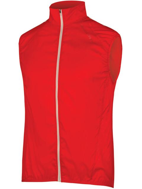 Endura Pakagilet II Windproof Vest Men red